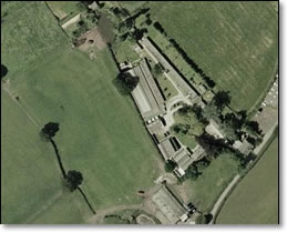 Blossoms kennels and cattery - aerial view